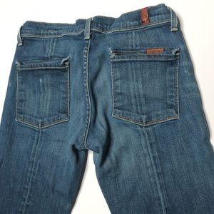 7 For All Mankind Soft Bootcut Selvedge Denim Jean